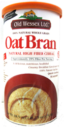 Old Wessex Kosher 100% Natural Oat Bran, 18.5 OZ