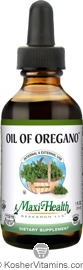 Maxi Health Kosher Oil of Oregano 1 OZ