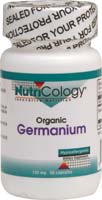 Nutricology Organic Germanium 150 Mg Vegetarian Suitable Not Certfied Kosher 50 Vegetable Capsules