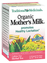 Traditional Medicinals Kosher Organic Mother's Milk 16 Tea Bags