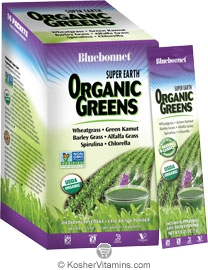 Bluebonnet Kosher Super Earth Organic Green Powder 14