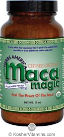 Maca Magic Kosher Organic Maca Powder 11 OZ
