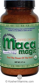 Maca Magic Kosher Organic Maca Powder 5.7 OZ