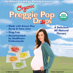 Three Lollies Kosher Preggie Pop Drops Organic 12 Drops