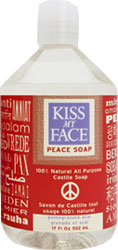 Kiss My Face Castile Soap Pmgrnt Acai 17 OZ