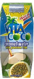 Vita Coco Kosher Coconut Water with Peach & Mango 11.2 OZ