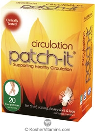 NutriWorks Kosher Patch-It Circulation 20 Patches