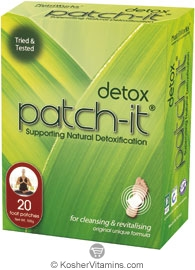 NutriWorks Kosher Patch-It Detox Patches 20 Patches