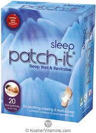 NutriWorks Kosher Patch-It Sleep 20 Patches