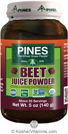 Pines Kosher Organic Beet Juice Powder 5 OZ