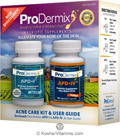 ProDermix Kosher Acne Care Kit & User Guide APD l & APD lV 1 Kit