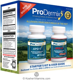 ProDermix Kosher Athlete's Foot Starter Kit & User Guide APD l & APD ll 1 Kit