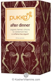 Pukka Kosher Organic After Dinner Tea 6 Pack 20 Sachets