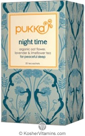 Pukka Kosher Organic Night Time Tea Pack 6 20 Sachets