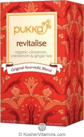 Pukka Kosher Organic Revitalise Tea 20 Sachets