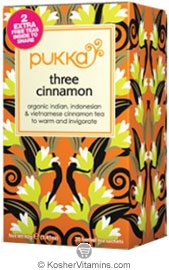 Pukka Kosher Organic Three Cinanman Tea 20 Sachets