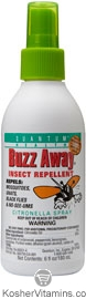 Quantum Health Buzz Away Insect Repellant Citronella Spray Original Formula Deet Free 6 OZ