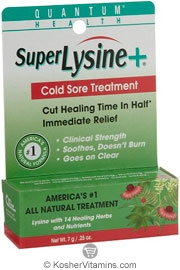 Quantum Health Super Lysine+ Cold Sore Treatment 0.25 OZ