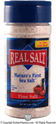 Redmond Real Salt Gourmet All Natural Sea Salt Shaker - Kosher for Passover 9 OZ