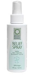 Desert Essence Relief Spray with Eco-Harvest Tea Tree Oil 4 OZ