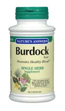 Natures Answer Kosher Burdock Root 90 Capsules