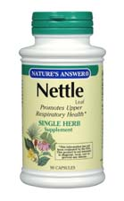 Natures Answer Kosher Nettle Leaf 90 Vegetable Capsules