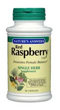 Natures Answer Kosher Red Raspberry 950 Mg 90 Vegetarian Capsules