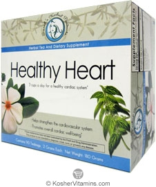 Sarahs Herbal Products Kosher Healthy Heart  90 Tea Bags