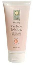 Desert Essence Shea Butter Body Scrub 6 OZ