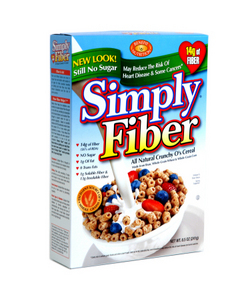 Benefit Nutrition Kosher Simply Fiber Cereal 14g Fiber All natural Crunchy O's Cereal OU-Dairy 8.5 OZ