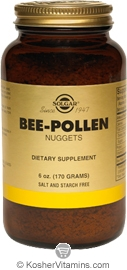 Solgar Kosher Bee Pollen Nuggets 6 OZ