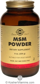 Solgar Kosher MSM Powder 8 Oz