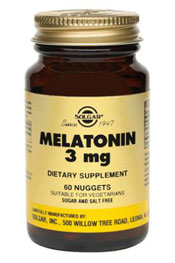 Solgar Kosher Melatonin 3 Mg 120 Nuggets
