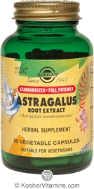 Solgar SFP Astragalus Root Extract  60 Vegetable Capsules