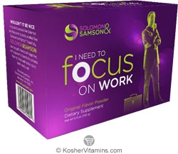 Solomon & Samson Kosher I Need To Focus on Work Original Flavor Powder 5.3 OZ