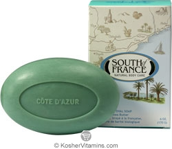 South of France French Milled Oval Bar Soap Cote d'Azur 6 OZ
