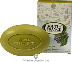 South of France French Milled Oval Bar Soap Herbes de Provence 6 OZ
