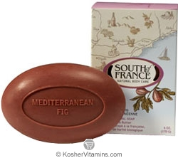 South of France French Milled Oval Bar Soap Mediterranean Fig 6 OZ