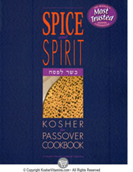 Book Spice and Spirit Kosher for Passover Cookbook 1 Book