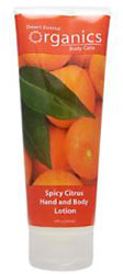 Desert Essence Body Lotion Spicy Citrus 8 OZ