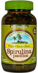 Nutrex Hawaii Kosher Pure Spirulina  Pacifica 500 mg.  400 Tablets