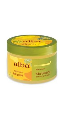 Alba Botanica Body Scrub Sea Salt 14.5 OZ