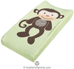 Summer Infant Plush Pals Changing Pad Cover Monkey 1 Each
