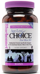 Bluebonnet Kosher Targeted Multiples Age-Less Choice Men 50+ 90 Caplets