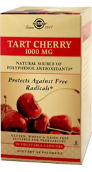 Solgar Kosher Tart Cherry 1000 Mg 90 Vegetable Capsules