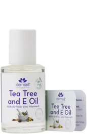 Derma E Tea Tree  &  E Oil 1 OZ