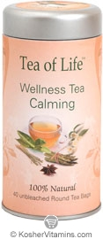 Tea of Life Kosher Calming Tea 40 Tea Bags