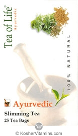 Tea Of Life Kosher Ayurvedic Slimming Tea 25 Tea Bags