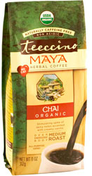 Teeccino Kosher Herbal Coffee Organic Maya Chai  11 OZ