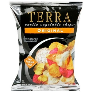 Terra Chips Kosher Exotic Vegetable Terra Chips Original Case of 24 1 OZ
